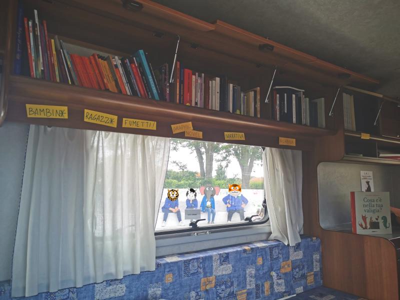 bibliocamper, letture per bambini, scuola, àncora di parole, corigliano rossano, villaggio frassa