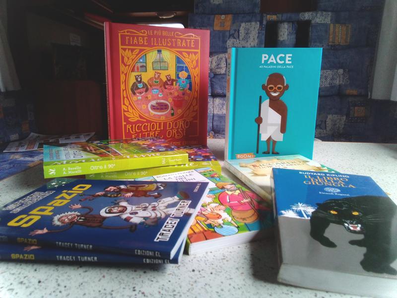 nuovi libri, dona un libro, bibliocamper, ancora di parole