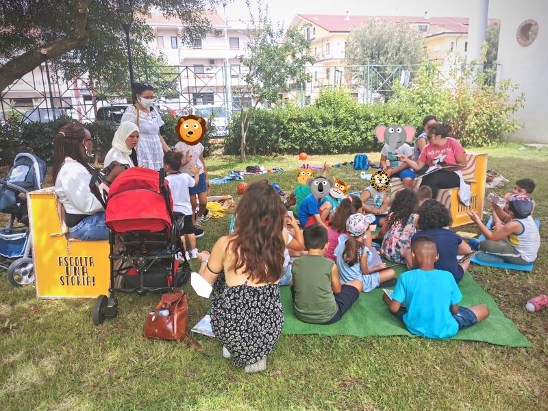 TANA! laboratorio, bambini, rifugiati, integrazione