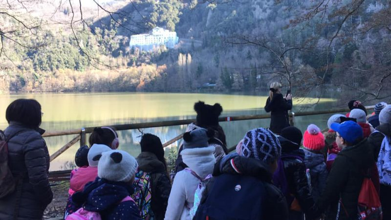 Laghi di Monticchio Lake best Tenda del Bivacco