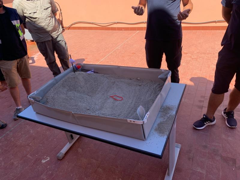 Simulazione corso antincendio del progetto PANT-AID