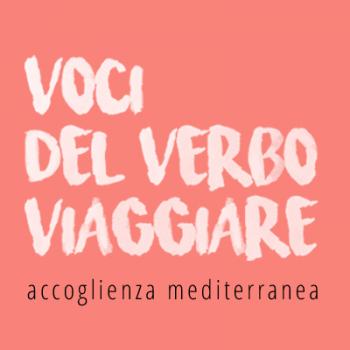 Logo Voci del Verbo Viaggiare – Accoglienza Mediterranea